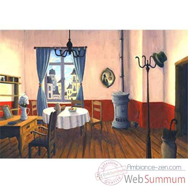 Theatres decors 2 (appartement / ville) anima scena 23943