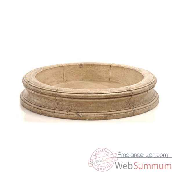 Fontaine-Modele Pisa Fountain Basin, surface gres-bs3191sa