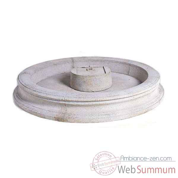 Fontaine-Modele Palermo Fountain Basin, surface pierre romaine-bs3311ros