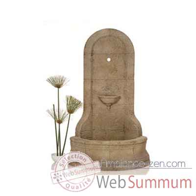 Fontaine Cordova Wall Fountain, marbre vieilli -bs3185ww