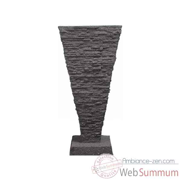 Video Fontaine Saqqara Fountainhead, pierre noire -bs3339lava