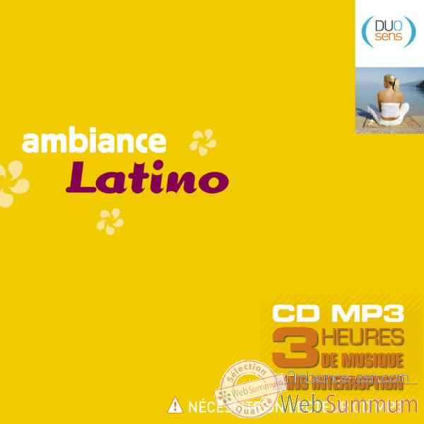 CD Ambiance Latino Musique -ds002342