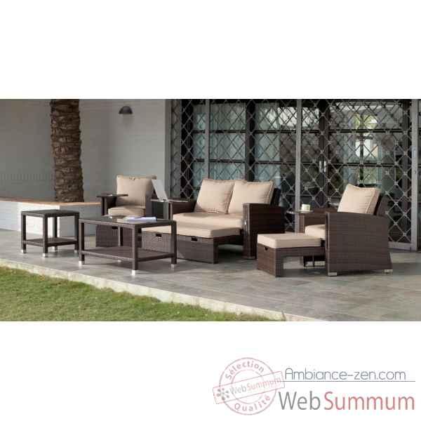 Table basse avec jardin zen for Ambiance zen jardin