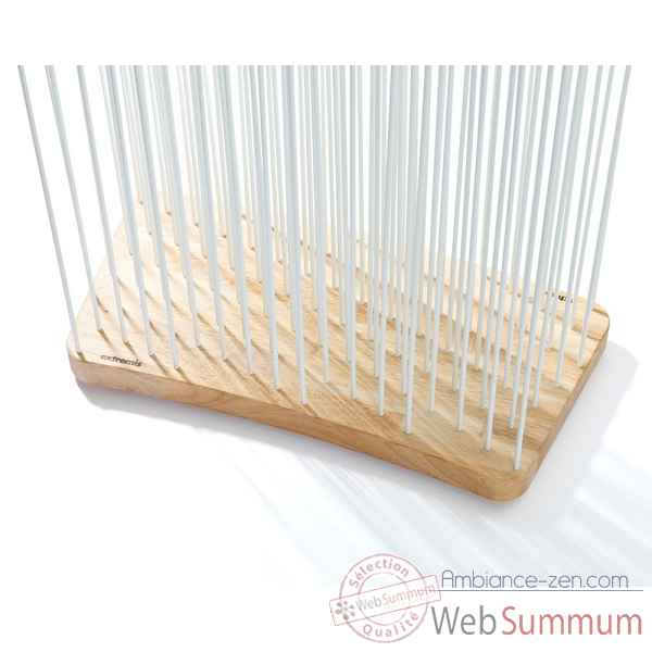 Decoration lumineuse sticks base arrondi rubberwood clair 60x30 (o4m) Extremis -SB63-HD4