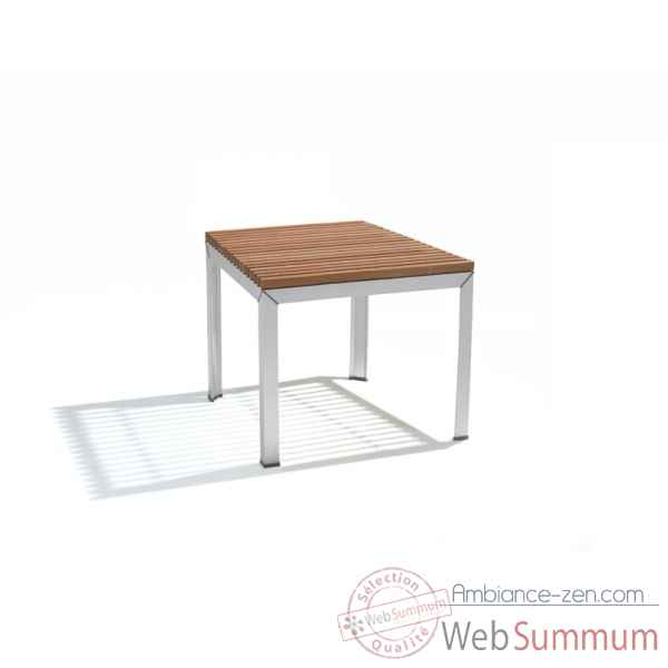 Table extempore standard, carree 80, fscpur Extremis -ETV080-75 FSC