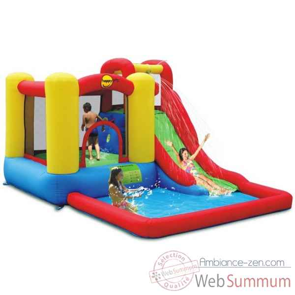 Jeu gonflable jump & splash Happy Hop -9271