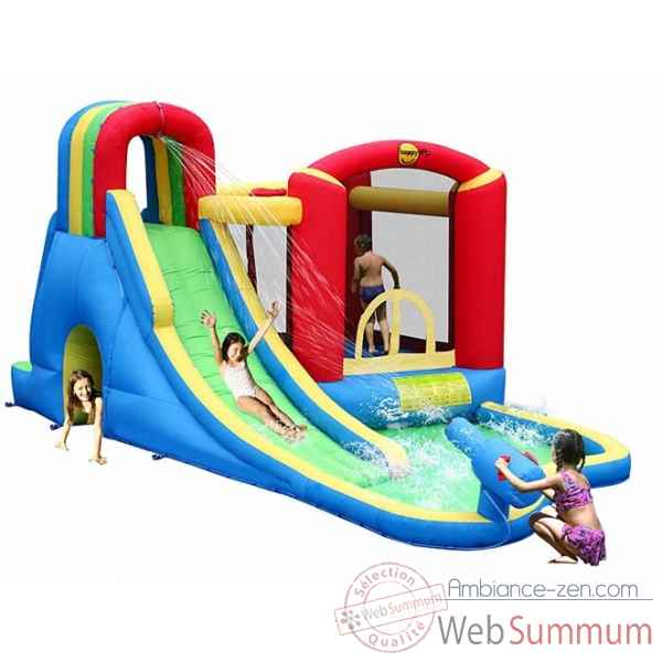 Jeu gonflable splash wave fun zone Happy Hop -9047