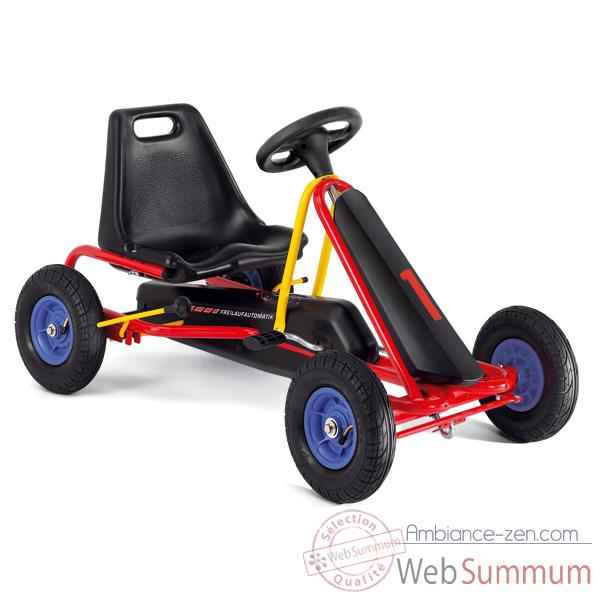 Video Karting a pedales rouge F 20L -3303