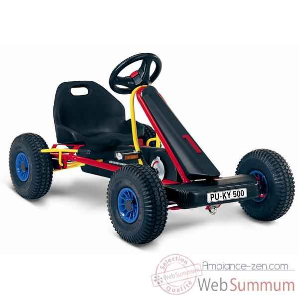 Karting a pedales rouge F 500L -3513