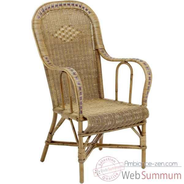 ensemble 6 fauteuil haut dossier grand p re avec filets de couleurs de kok de bois. Black Bedroom Furniture Sets. Home Design Ideas