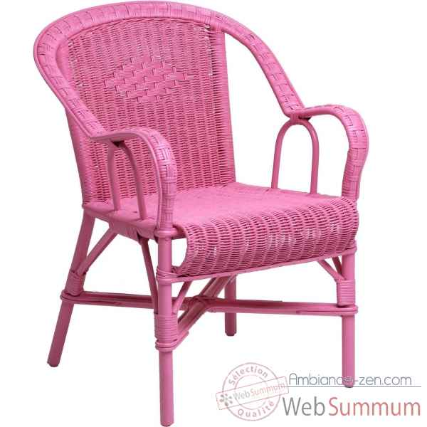 Fauteuil Grand Pere - rose trendy KOK 978TR