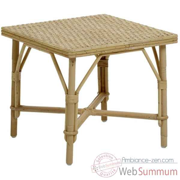 Table basse Lame en rotin KOK 574