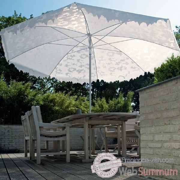 Video Parasol Sywawa Shadylace XL blanc -0550