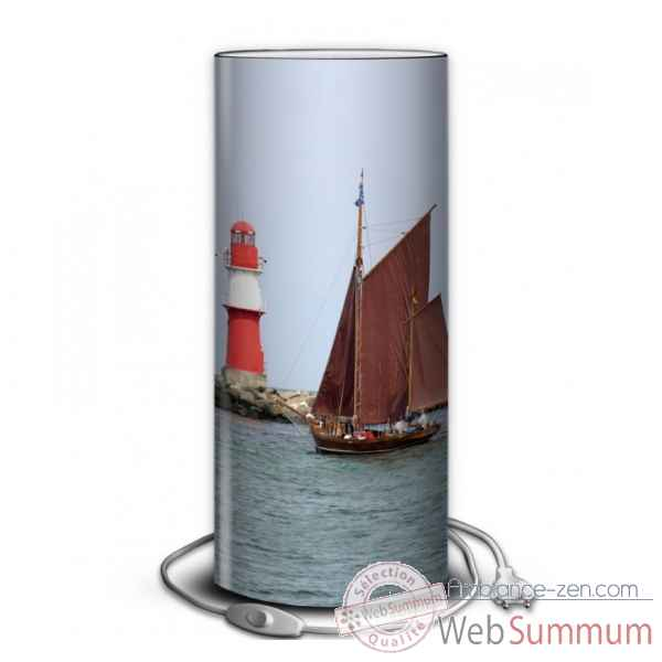 Lampe collection marine voilier et phare -MA1211