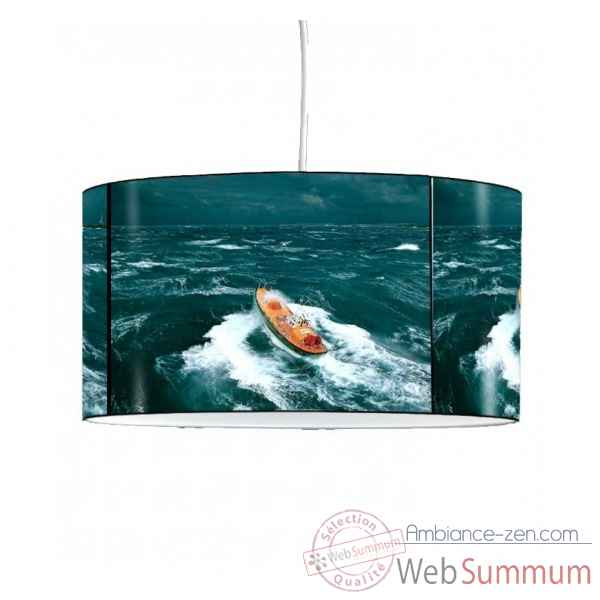 Lampe suspension collection plisson bateau snsm -PL1602SUS