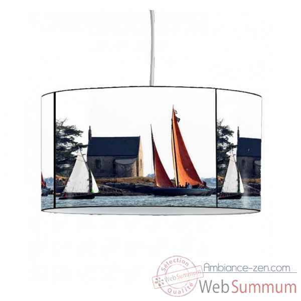 Lampe suspension collection plisson bateau voilier bretagne -PL1616SUS