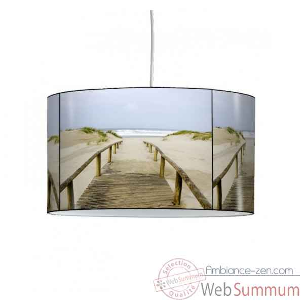 Lampe suspension marine chemin dans le sable -MA1432SUS