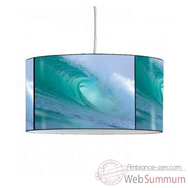 Lampe suspension marine vague rouleau -MA30SUS