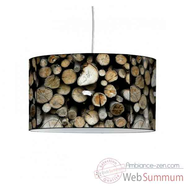 Lampe suspension montagne buches -MO1210SUS