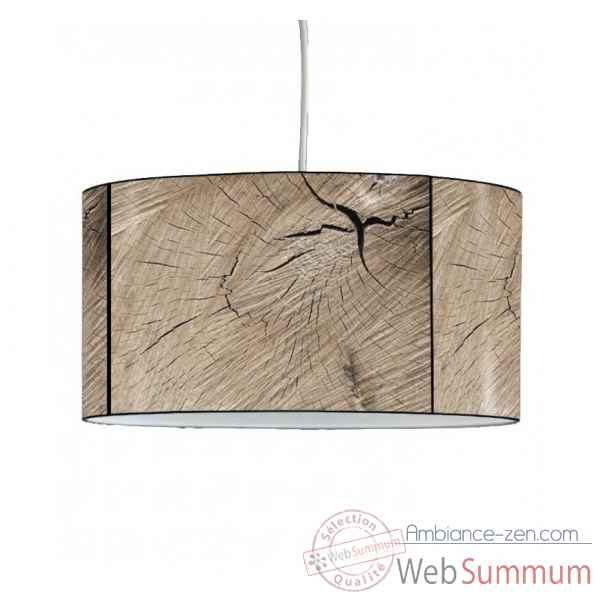 Lampe suspension montagne veine du bois -MO1505SUS