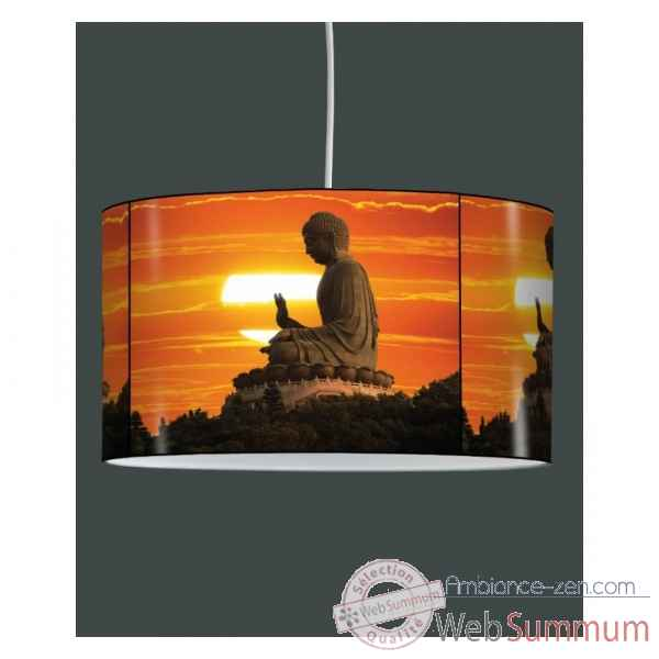 Lampe suspension zen design bouddha couche de soleil -ZE1319SUS