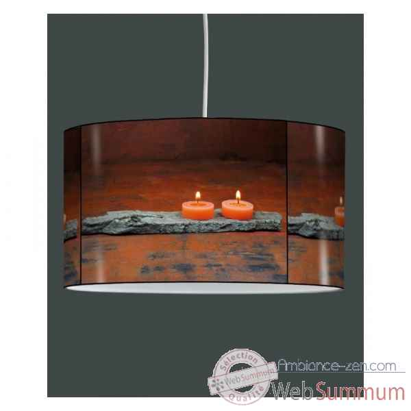 Lampe suspension zen design bougies -ZE1304SUS