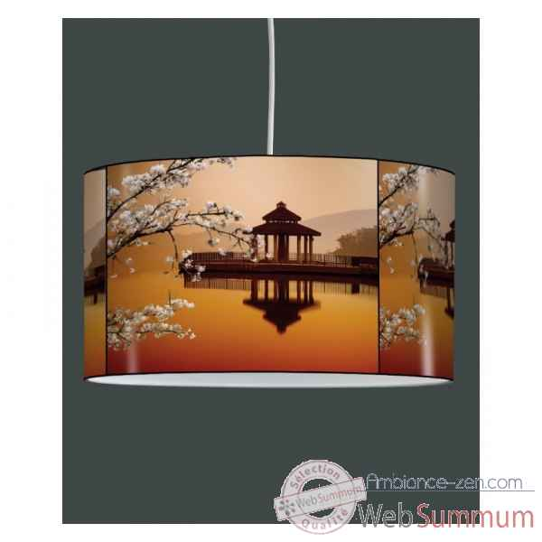 Lampe suspension zen design image japon -ZE1414SUS