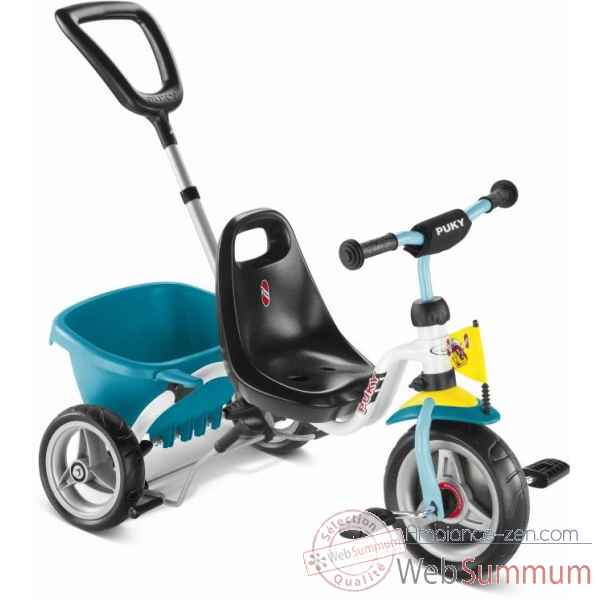 Tricycle blanc-menthe Puky -2227