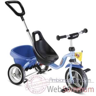 Tricycle cat 1 s bleu ocean puky 2326