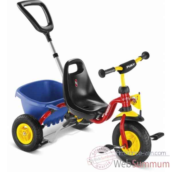 Tricycle pneum rouge Puky -2373