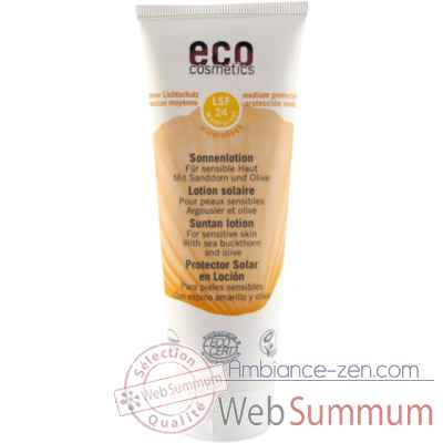 Video Soin Lotion solaire Sonnenlotion LSF 24 Eco Cosmetics -742016