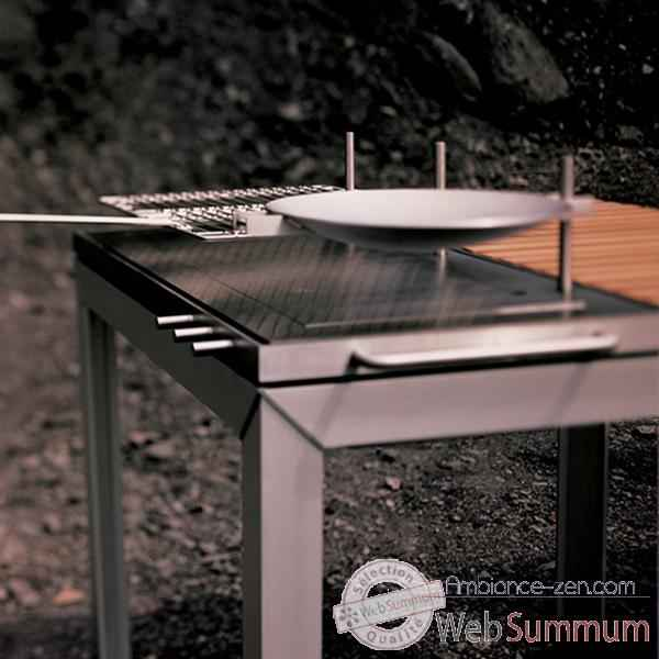 Table barbecue ExTempore Extremis Rectangulaire -EKBQ