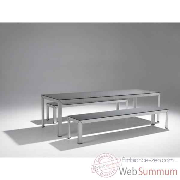 Table ExTempore Still Extremis Hauteur intermediaire rectangulaire -STTV090-67