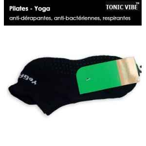 Chaussettes pilates-yoga par 10 (basses) Tonic Vibe -TV-PILATES-0054