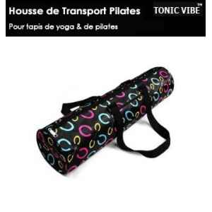 Housse de transport tapis de pilates black Tonic Vibe -TV-PILATES-1215