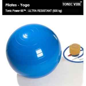 Lot de 10 ballons pilates tonic power 65 cm Tonic Vibe -TV-PILATES-1202