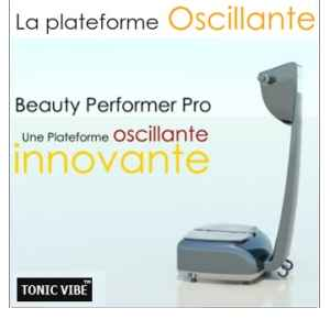Plateforme beauty performer prob sans ecran tactile multimedia Tonic Vibe -TV-PLATE-00780