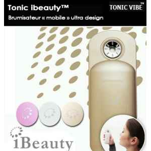 Tonic ibeauty : mini brumisateur ultradesign blanc Tonic Vibe -TV-BEAUTY-0002