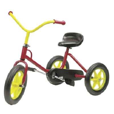 Tricycle a chaine N°33 tricolore de 2 a 4 ans-00112M