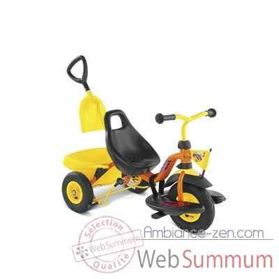 Tricycle Puky Cat1sl Jaune Orange -2341
